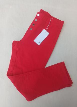 Укорочені трикотажні штани для дівчинки на зріст 164 см.