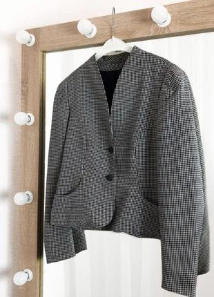 Пиджак укорочённый