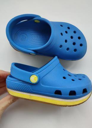 Crocs 6c7  сабо шлепанцы 14,5 см