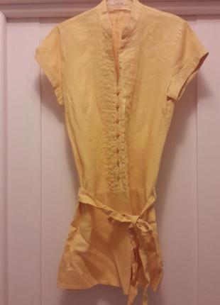 Туника блуза лен