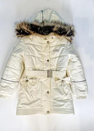 Пуховик lenne куртка зимняя
