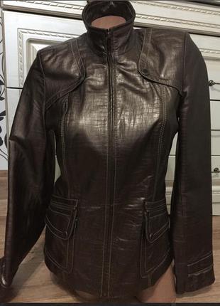 Куртка кожаная раз.46