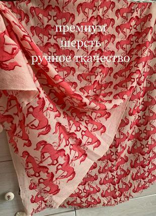 Ручное ткачество премиум шерстяной палантин 100% шерсть мягчайшая lola rose
