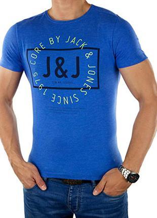 Мужская футболка фирмы jack jones.m-ka.