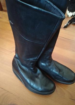 Шкіряні чоботи сапоги