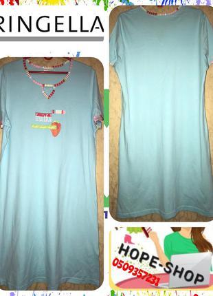 Клпсснючее домашнее платье-футболка,ночная рубашка 46/54