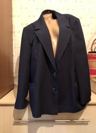 Фирменный пиджак жакет большого размера