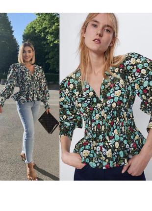 Новая блуза блузка топ zara