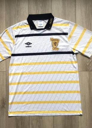 Футбольная футболка umbro scottish