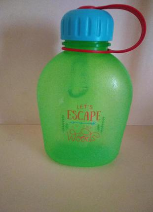 Пластиковая бутылка фляга для воды 500мл