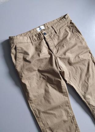 Мужские повседневные штаны бежевого цвета pier one