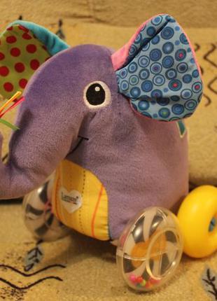 Развивающая игрушка слон tommy lamaze
