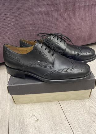 Туфли geox рр 43 кожа , оригинал
