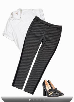 Стильные брюки с лампасами next tailoring m(10)