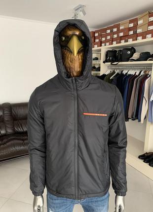 Чоловіча куртка вітровка прада