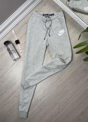 Nike найк женские штаны джоггеры спортивные оригинал серые