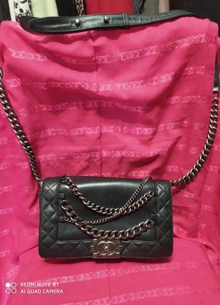 Chanel сумка кожа