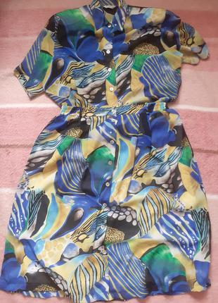 Костюм винтажный,костюм летний,костюм женский,костюм в морской принт