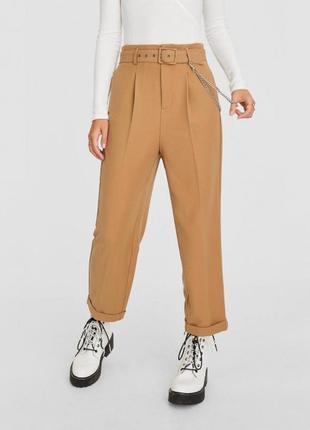 Стильные брюки с высокой талией