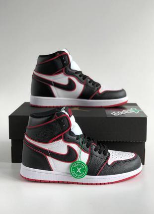 Nike air jordan 1 retro high bloodline кроссовки высокие