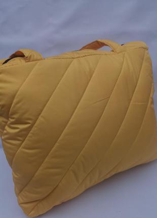Женская стильная стеганая сумка шопер для покупок для спорта для фитнеса повседневная