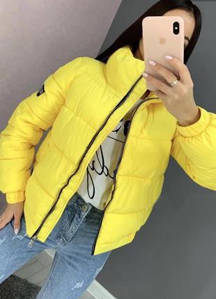 Стильная куртка, курточка зефирка