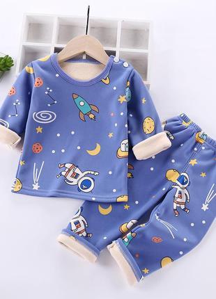 Теплая пижама космос