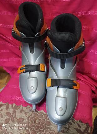 Endless ice коньки р.37-40 раздвижные