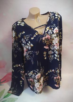 Блуза в принт