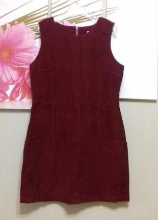 Сарафан платье вельвет хлопок размер м
