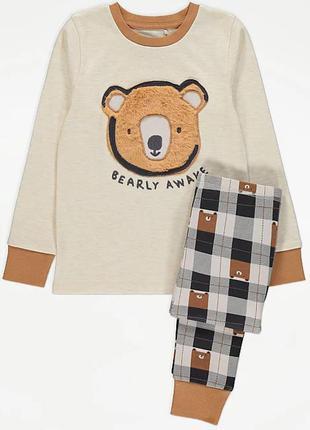 Пижама для мальчика мишка george 210906