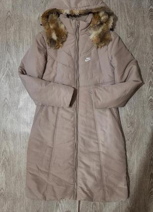 Nike пуховик, куртка, пальто зима