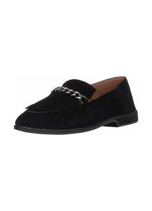 Лофери  franco sarto womens augustine black loafers