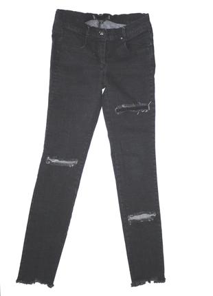 Черные джинсы р.26   (т.70-80, б.86-100, дл.98)