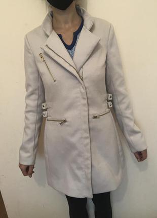Пальто демисезонное косуха
