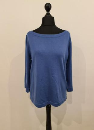 Синий свитер шерсть marc o polo