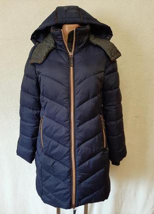 Теплая удлиненная куртка фирмы esprit ( германия) р. м
