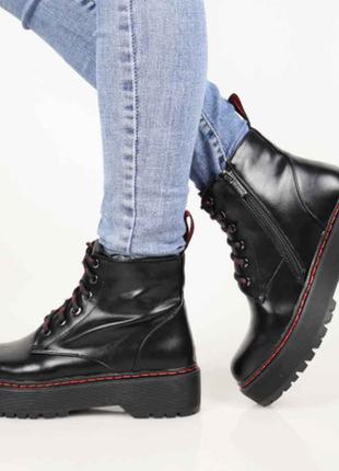 Ботинки женские демисезонные (336249) / 100796