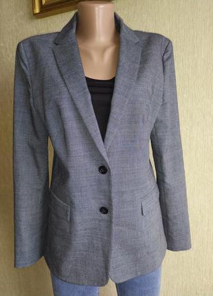 Крутой фирменный пиджак жакет, шерсть, р.40-42
