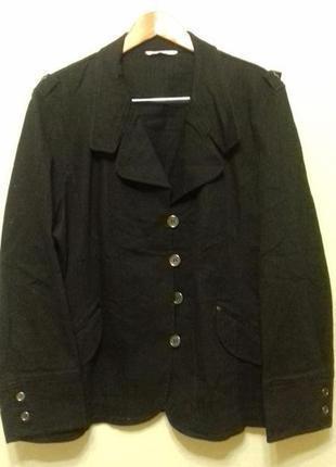 Ветровка пиджак жакет куртка elvi очень большого размера 26