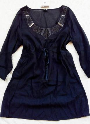 Платье/туника,воздушное,лёгкое,бренд liberty island