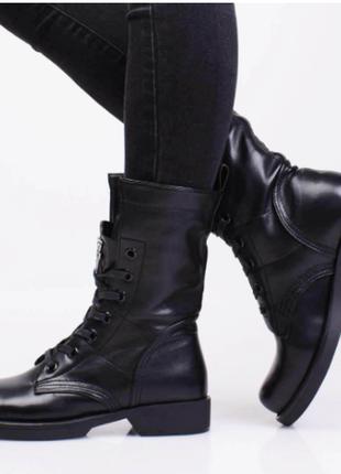 Ботинки женские демисезонные (335077) / 100799