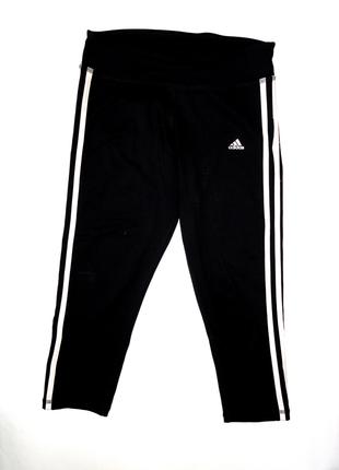 Черные велосипедки adidas р.s (8-10) дл.72