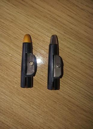 Точилка колпачок для косметического карандаша 2 шт