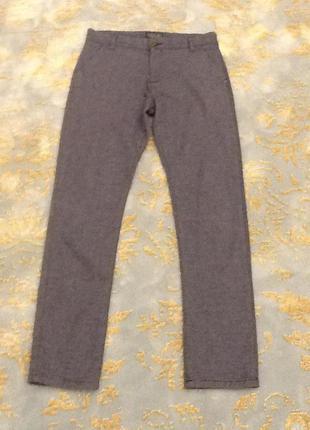 Текстурные брюки на мальчика 14 лет