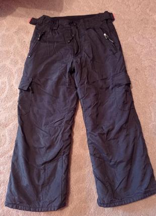 Лижные штаны теплые зимние штани для мальчика