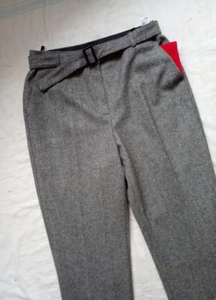 Шерстяные брюки 14 размер