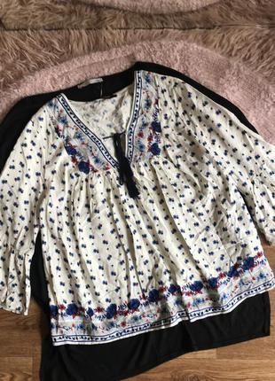 Красивая свободная блуза (12р)l