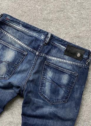 Круті завужені джинси diesel industry buster jeans regular slim italy w33 l32