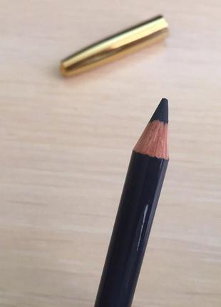 Олівець для очей, водостойкий карандаш для глаз, el corazon grey 121, темно серый карандаш для глаз.